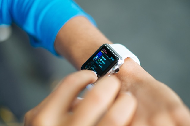 Wearable watches have health and fitness tracking capabilities.
