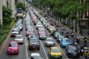 Traffic in Manila and how to address it.