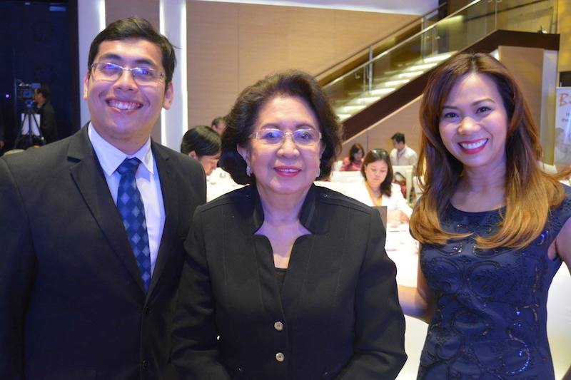 Ombudsman Conchita Carpio-Morales in the house! Source: Asia CEO Forum, at the Asia Women's Summit 2017.